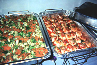 Corporate Catering: Hot & Cold Buffets