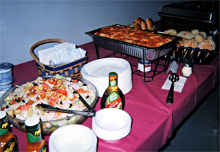Corporate Catering: Corporate Luncheons