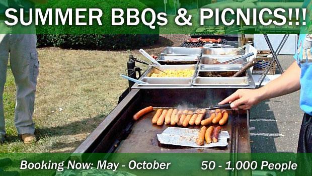 Summer BBQ's & Picnics Catering